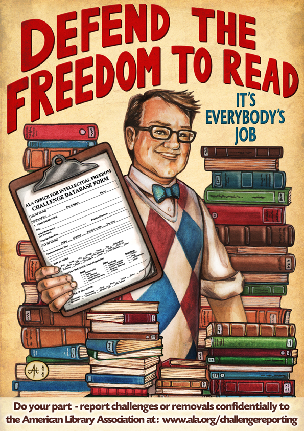 Defend the Freedom to Read: It's everybody's job!