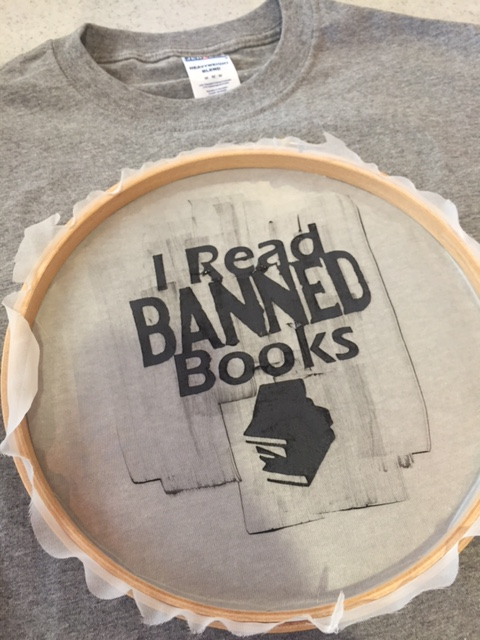 I read banned books tshirt