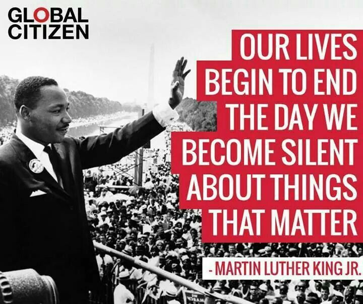 Words To Think About On Mlk Jr Day From >> What Can YOU Do? - Intellectual Freedom Blog