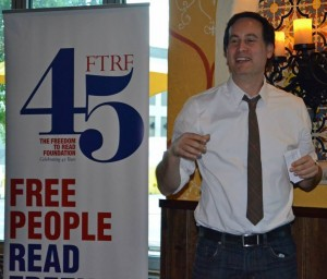 David Levithan at Freedom to Read Foundation
