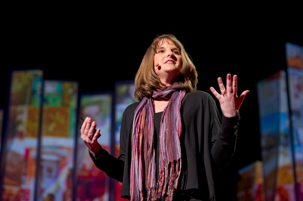 Building dark worlds to make a better one: Kate Messner at TED2012
