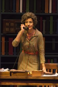"Carmen Roman as Emily Wheelock Reed in ""Alabama Story"" at Peninsula Players Theatre in Wisconsin Photo credit: Len Villano"