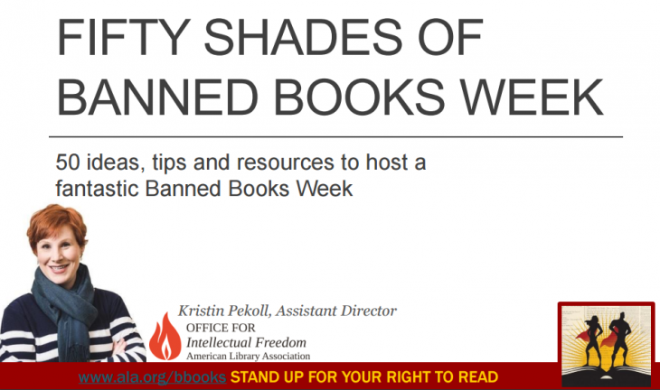Fifty Shades of Banned Books Week webinar