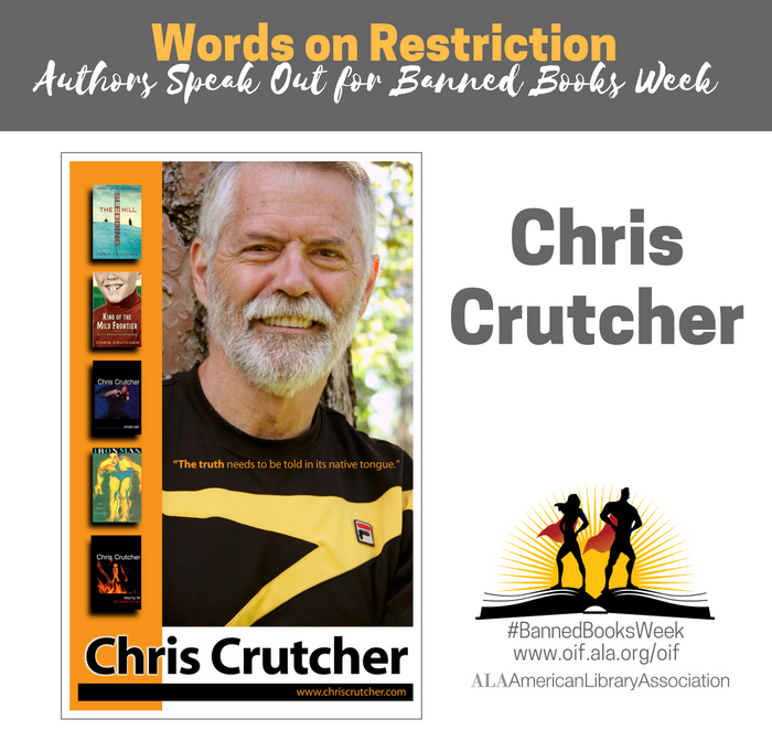 Chris Crutcher for Banned Books Week