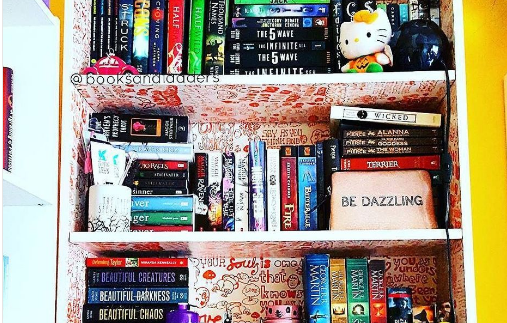 #ShelfieSunday from @booksandladders