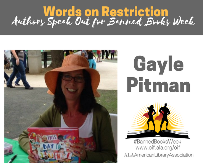 Gayle Pitman for Banned Books Week