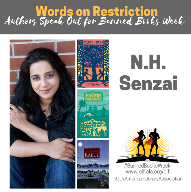 N.H. Senzai for Banned Books Week