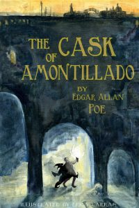 "the diabolic narrator in the cask of amontillado a short story by edgar allan poe Published: mon, 15 may 2017 the story of ""the cask of amontillado"" by edgar allan poe is full of conflict from beginning to end the narrator of this story does not reveal why such a conflict exists other than to say someone has impugned his honor."