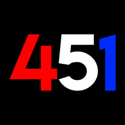 451 was created by Sarah Houghton and Andy Woodworth