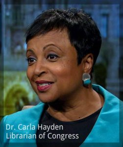 Dr. Carla Hayden Librarian of Congress Copyright