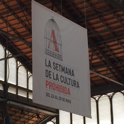 La Setmana: Poster in Catalan announcing Forbidden Culture Week