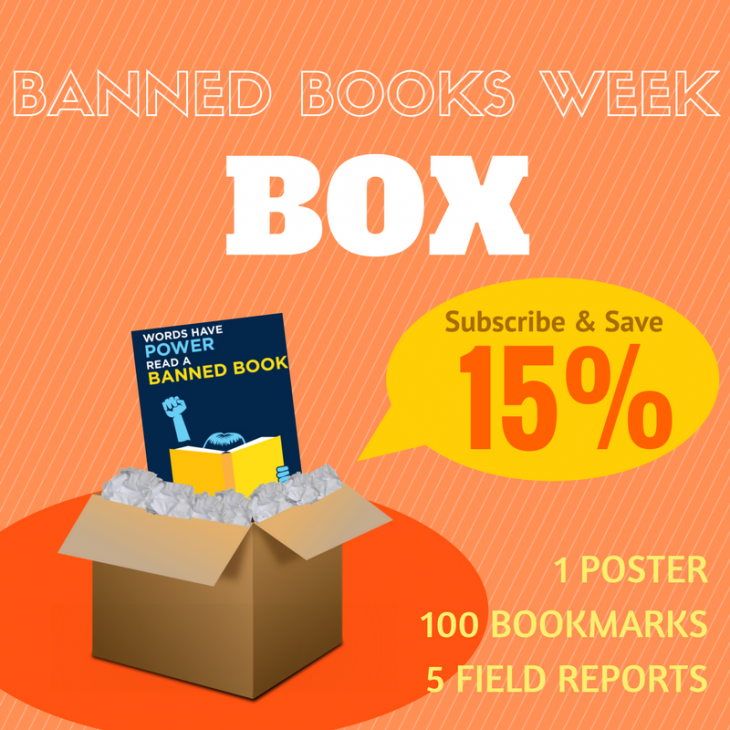 Banned Books Week Box: Subscribe & save 15%