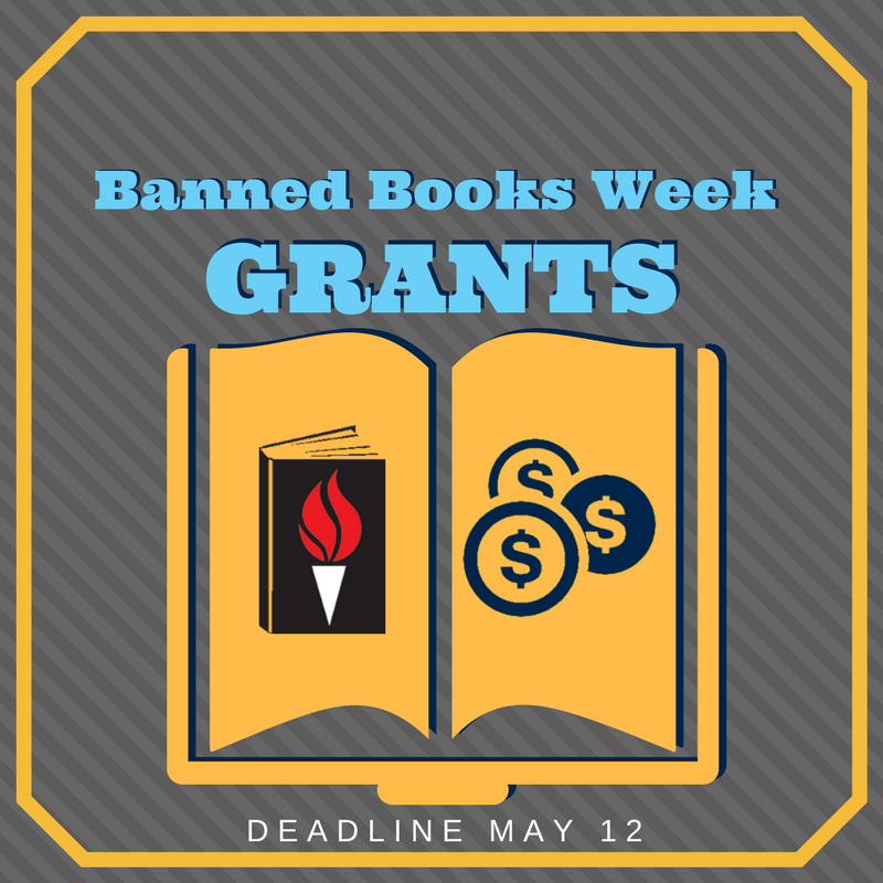 Banned Books Week grants from the Freedom to Read Foundation