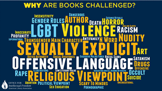 Why Are Books Challenged?