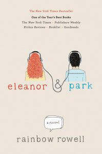 Eleanor & Park cover, by Rainbow Rowell