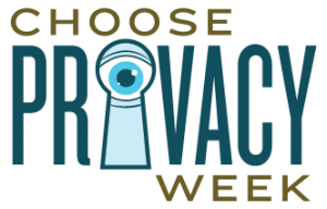 choose privacy week logo