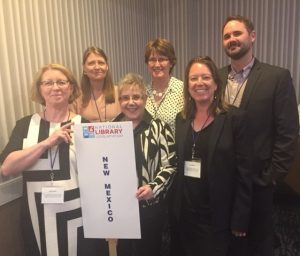 A group of librarians in the New Mexico delegation