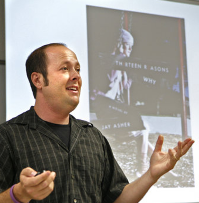 Jay Asher, author of Thirteen Reasons Why