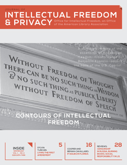 Journal of Intellectual Freedom and Privacy, editor Michael Zimmer