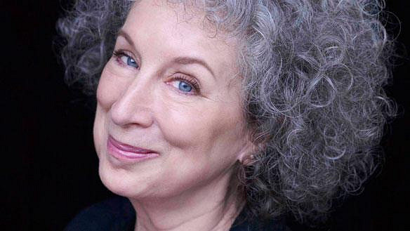 Margaret Atwood head shot