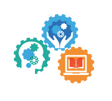 National School Library Standards icons