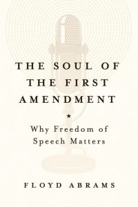 Book cover for Soul of the First Amendment