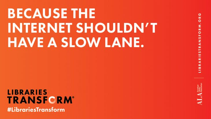 Because the Internet shouldn't have a slow lane net neutrality