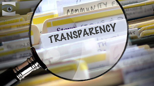 transparency on a file folder label