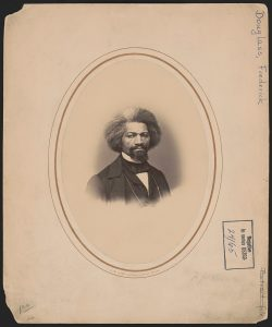 Frederick Douglass from Library of Congress
