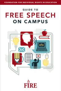 Foundation for Individual Rights in Education Free Speech Campus Guide