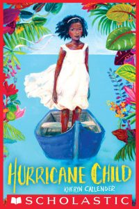 illustrated cover of the book Hurricane Child by Kheryn Callender
