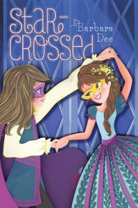 illustrated cover of the book Star-Crossed by Barbara Dee
