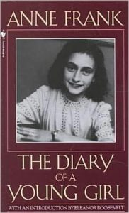 cover image of Diary of a Young Girl by Anne Frank