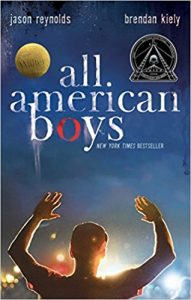 cover for All American Boys by Jason Reynolds and Brendan Kiely