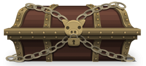locked treasure chest