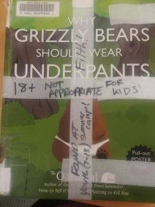Grizzly Bears Should Wear Underpants
