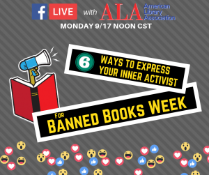 Six Ways to Express Your Inner Activist for Banned Books Week
