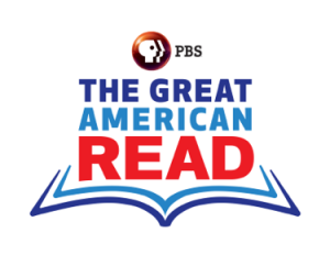 Great American Reads logo from PBS.""