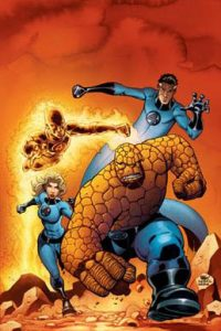 Fantastic Four promotional art by Mike Wieringo and Karl Kesel picture from: https://en.wikipedia.org/wiki/Fantastic_Four
