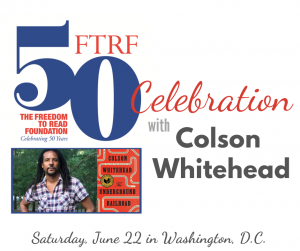 FTRF 50th Celebration with Colson Whitehead