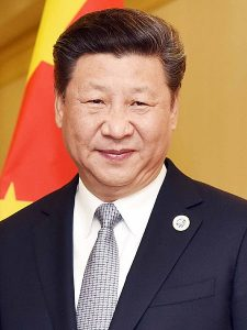 Xi Jinping, by Narendra Modi under a CC license