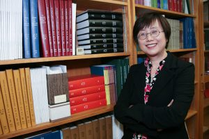 Liana Zhou, Director of the Library and Special Collections of the Kinsey Institute.