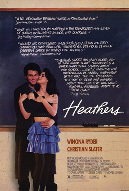 Heathers theatrical release poster