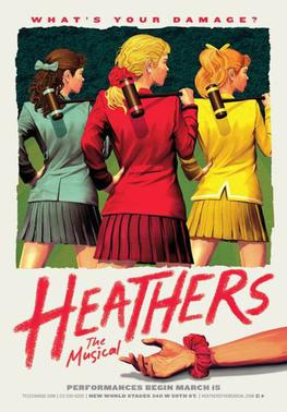 Heathers the Musical off Broadway poster from Wikipedia