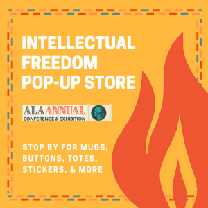 Intellectual Freedom Pop-Up Store