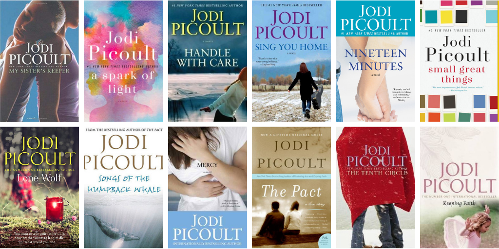 Picoult book covers