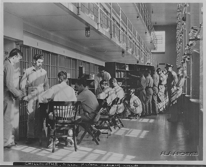 Chillicothe Prison Library from ALA Archives