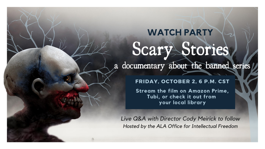 Watch Party Scary Stories